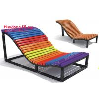 Buy cheap Commercial  Recycled Outdoor Park Benches , Modern Garden Outdoor Leisure Chairs product