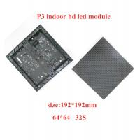 Buy cheap Indoor P3 LED full color 192*192mm module for video display from wholesalers