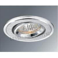 China Silver / Golden High - Tech Φ75mm MR16 12V 50W Ceiling Mount Light Fixtures For Garages wholesale