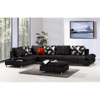 Buy cheap Upholstery modern fabric leisure sofa, stylish L sharps sofa, living room seat, home furniture product