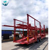 Buy cheap 2 axle 6-8 car carrier vehicle transport semi truck trailer product