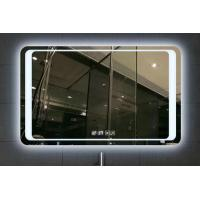 China 5mm Silvery LED Bathroom Mirror With Radio / Bluetooth Touch Screen on sale