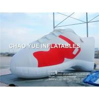 Quality Advertising Giant Inflatable Shoes Customized Inflatable Replica Shoes Model for sale