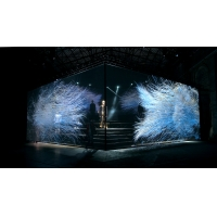 Buy cheap Transparent Invisible Holographic 3D Mesh Screen Pepperscrim product