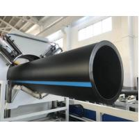 Buy cheap Customimzed Plastic Pipe Production Line Low Energy Consumption Hydraulic Driving product