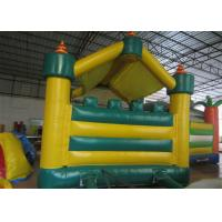 Quality Football Kids Inflatable Bounce House Castle Digital Printing 4 X 4m For for sale