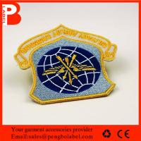 China Factory direct High quality custom embroidered patch embroidery bull patches custom embroidered arm patches on sale