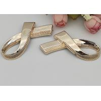 Buy cheap Bow Design Fashion Shoe Buckles Decorative Accessories For Ladies Shoe from wholesalers