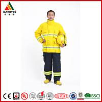 Buy cheap Washing Flame Retardant Clothing Firefighter Turnout Gear with Nomex IIIA Material product