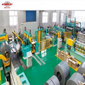 Buy cheap CNC Cut To Length Line Machine , 8 Slitting Strips Slitting Line Machine product