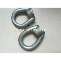 Buy cheap Q235 Material Power Line Fittings ISO Certification Forged And Casted Eye Nut product