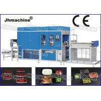Buy cheap PP Plastic sheet  Vacuum Thermoforming Machine , big forming area For Food Trays product