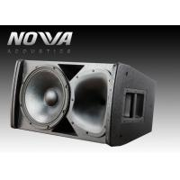 Buy cheap 400w Power Nightclub Speaker Systems 8Ohm Impedance For Event / KTV product