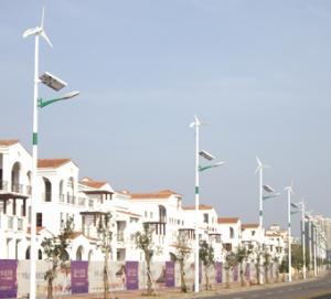 Buy cheap 2012 New Modern wind solar led street light LK-80WP product
