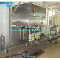 Buy cheap Automatic linear type syrup filling machine for olive cooking sunflower oil in bottle can product