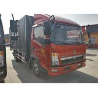Buy cheap 5 Ton Mini Box Truck , Cargo Van Truck With Single & Double Cabin from wholesalers