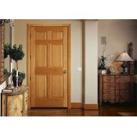 Buy cheap Bathroom Wood Plastic Composite Doors Customized Color , 19-40mm Door Frame Thickness product