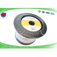 Buy cheap Stable Conductivity Wire EDM Consumables / Hard Brass Wire For Wire Cut Machine product