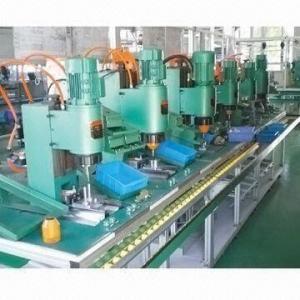 Buy cheap Rebitando a linha de produção da maquinaria com profundidade da garganta de 125mm product