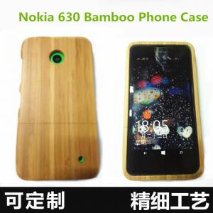 Buy cheap Нокя 630 покрывает древесину классической ретро деревянной задней стороны обложки случая телефона неподдельную естественную/бамбуковую предусматрива телефона с оптовой ценой product
