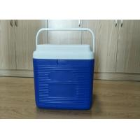 Quality 24L Plastic Foam Green Cold Chain Pcm Packaging Cooler Box With Handle In for sale