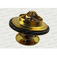 Buy cheap Excavator 79 ℃ Car & Truck Thermostats Parts For VOLVO Golden Color product