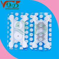 Buy cheap White laminated cloth no allergy, stimulation, residue conductive carbon film medical Pads product