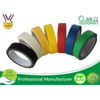 China Colorful Silicone Adhesive Colored Masking Tape Low Tack Without Residue wholesale