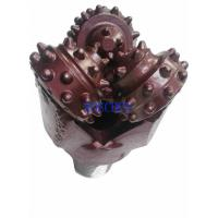 China IADC 127 Milled Tooth Drill Bit / Tricone Rock Roller Bit Rubber Sealing on sale