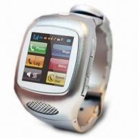 Buy cheap Touchscreen MP3 Watch Phone with Built-in Bluetooth, Supports T-Flash Card Up to 32GB Memory product