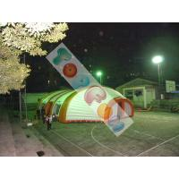 Buy cheap 18m Large PVC Inflatable Event Tent / Dome Tent For Warehouse , Office , Meeting room product
