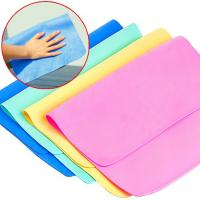 Buy cheap 43*32cm synthetic chamois Clean Charm Magic Multipurpose Towel product
