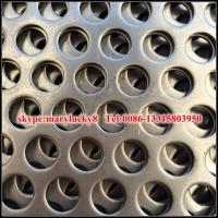 China perforated sheet/perforated metal sheet/round hole perforated metal on sale