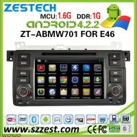 China ZESTECH for bmw e46 car cd mp3 mp4 player with gps navigation Android system on sale
