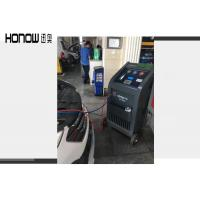 Buy cheap Full Auto Air Conditioning Recovery Machine R134a Refrigerant Cleaning Device product
