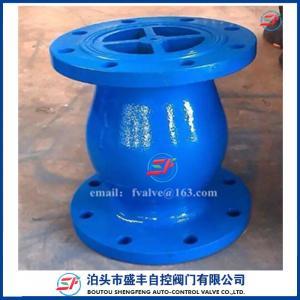 Buy cheap поставьте задерживающий клапан сурдинки утюга ГГГ50 Х42С дуктильный сделанный в фабрике задерживающего клапана сурдинки Китая с низкой ценой product