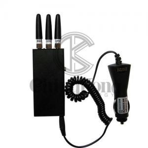 Buy cheap OEM Handheld Signal Jammer Portable Wifi Bluetooth 3g 4g Mobile Phone Blocker product