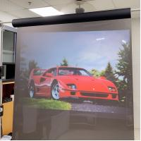 Buy cheap High contrast Holographic Screen , holoscreen projection film 1524 x 3000mm product