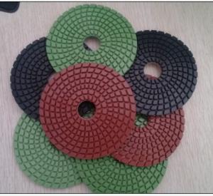 China Resin diamond polishing pad/Diamond resin polishing pads/Diamond concrete wet and dry pad on sale
