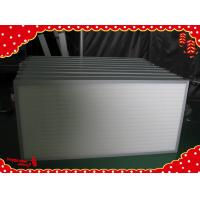Buy cheap 610x610x69mm High efficiency particulate minipleat Hepa air filters H13 product
