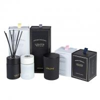 Buy cheap Custom Luxury Classic Candle And Diffuser Set Frosted Soy Candle Gift Set product