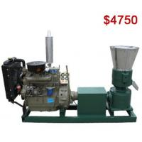 Buy cheap AZSPLM300AD Diesel Pellet Mill Ideal for Wood and Feed Pellet Making product
