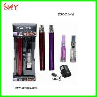 China EGO twist battery Variable Voltage from 3.2V-4.8V ecig ego twist 1300mah battery on sale