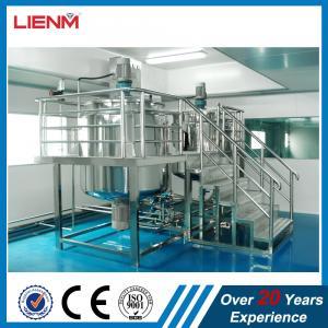 Buy cheap Industrial Chemical Liquid Mixer Machine Detergent Agitator Production Equipment Industrial Cosmetic Liquid Mixer product