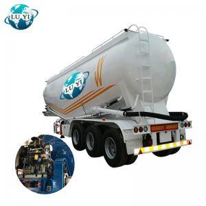 Buy cheap 3 Alxe 40cbm 45 Cbm Powder Dust Flour Cement Bulker Tank Semi Trailer For Sale product