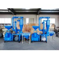 Buy cheap 100 Mesh No Dust Plastic Recycling Equipment Compact Structure Overload Protection from wholesalers