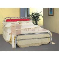 China Single bed, bed frame, metal bed on sale