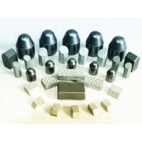 Buy cheap Semi Ballistic Spike Tungsten Carbide Inserts Button Carbide Round Shape from wholesalers