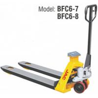 Buy cheap Manual Handle Pallet Truck With Scales , Hydraulic Pallet Jack High Accuracy product