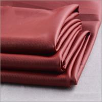Buy cheap Rusha Textile  Smooth Touch Knit 4 Way Stretch 118D FDY Polyester PU Coated Fabric product